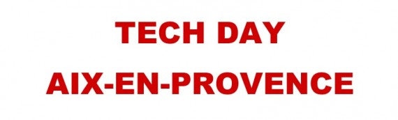Tech Day Aix-En-Provence 2014