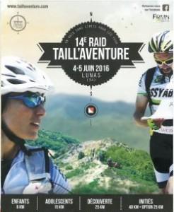 planing Taill'Aventure 4-5 juin