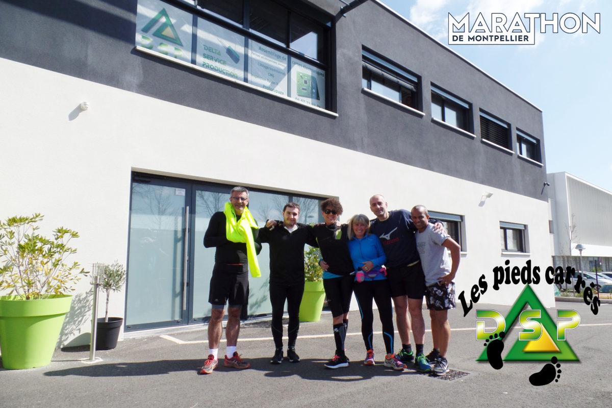 Les pieds carrés - Marathon 2018
