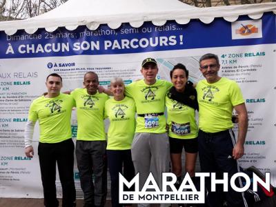 Marathon Montpellier Arrivée