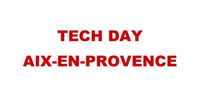Tech Day Aix En Provence 2014